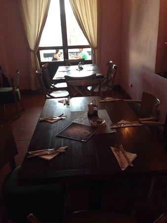 Jilemnice, República Checa: Restaurant (en hotel)
