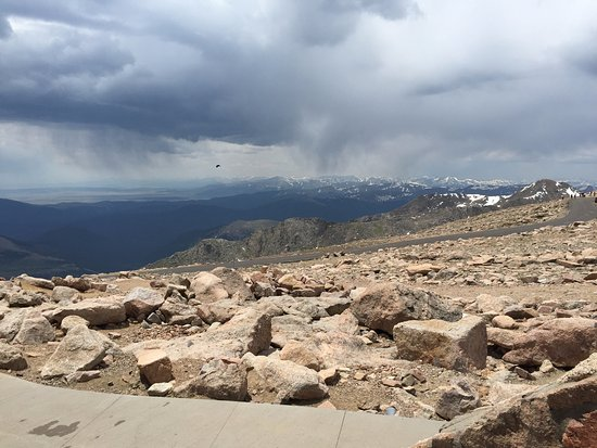 Mount Evans: View from the top!