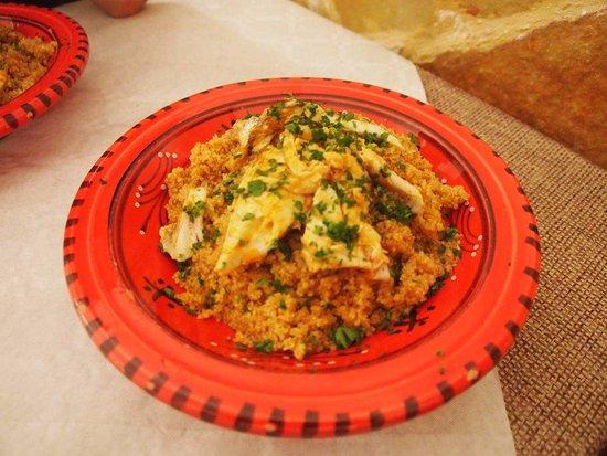Eyem Zemen : Couscous de poissons