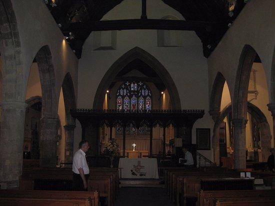 Tenterden, UK: The inside of the church