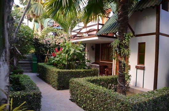 Balandra Hotel: Area de Bungalos / Bungalows