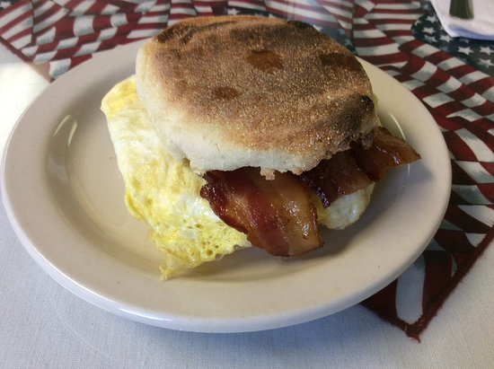 West Rutland, VT: Egg sandwich