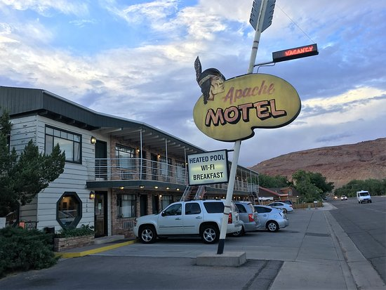 Apache Motel is on the National List of Historic Places.