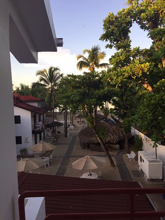 View from room 33