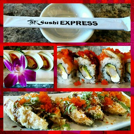 Birthday Party Tray Picture Of Sushi Express San