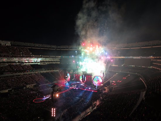 East Rutherford, NJ: Fireworks!