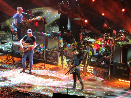 East Rutherford, NJ: Coldplay was rocking