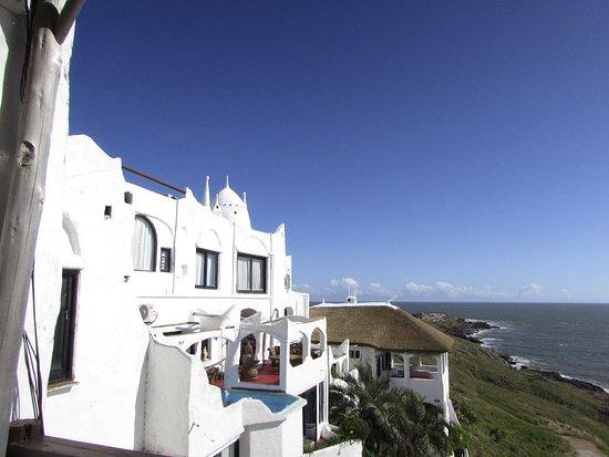 Punta Ballena, Urugwaj: vista lateral