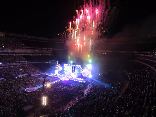 East Rutherford, Nueva Jersey: Last tune!!!! Great show and awesome venue.