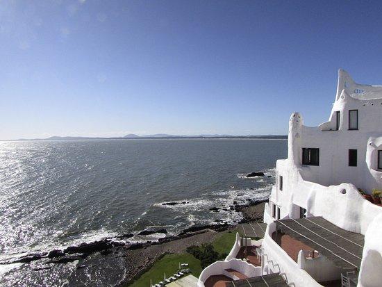 Punta Ballena, Urugwaj: vista do mar