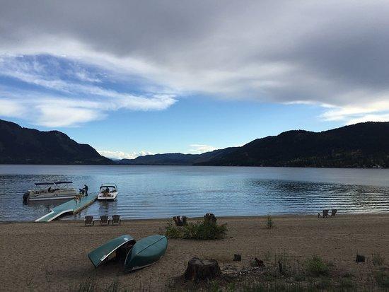 Chase, Canadá: Der Strand am Abend! Einfach Traumhaft und fast verlassen!!