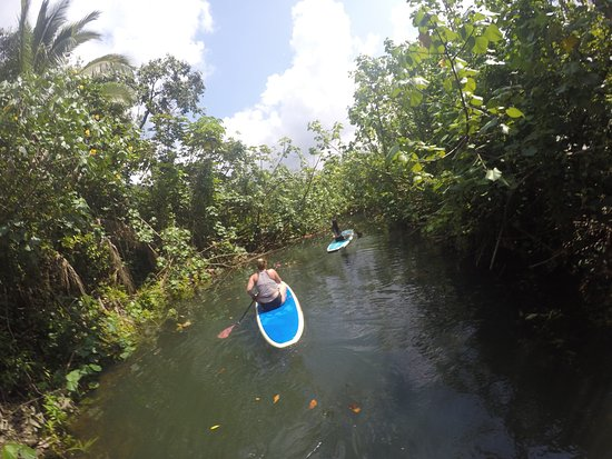 Hauula, HI: Epic full day adventure with Ryan!! Paddle boarding