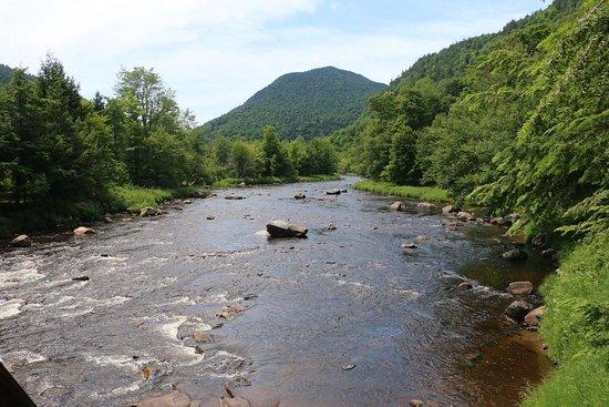 Wilmington, estado de Nueva York: Au Sable River near Gorge