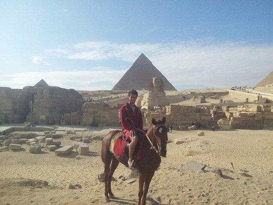 Cheops-Pyramide: Visual