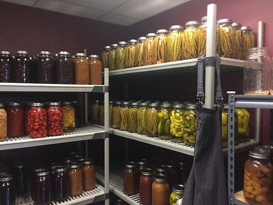 Walla Walla, WA: pickled vegtables