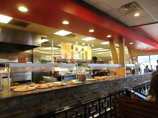 Stockbridge, GA: Pizza Buffet