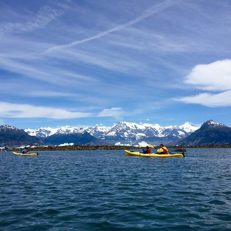 Valdez, Αλάσκα: Paddled all the way to Columbia glacier