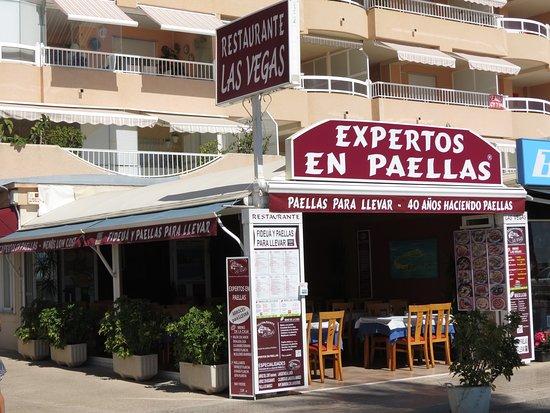 Restaurante Las Vegas: RESTAURANTE  LAS VEGAS PEÑISCOLA - EXPERTOS EN PAELLAS -- PAELLAS PARA LLEVAR EN PEÑISCOLA - RES