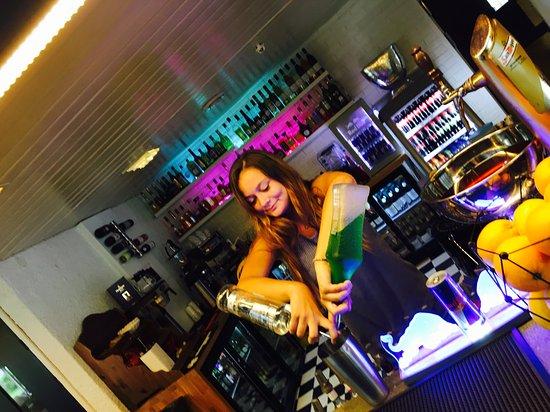 Drangedal, Norway: Bartender