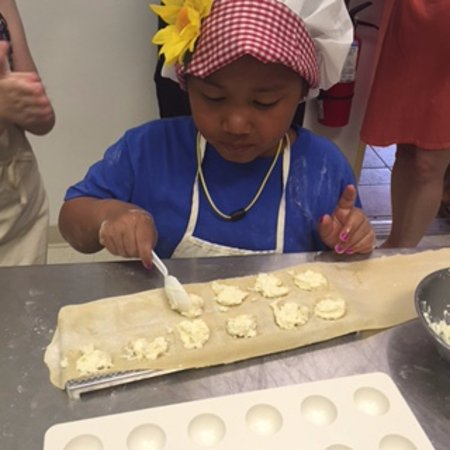 Wynton's World Cooking School: Kids Cooking Party 6/9/16