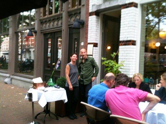 Les serveurs au Bistrot du Bac - Rotterdam
