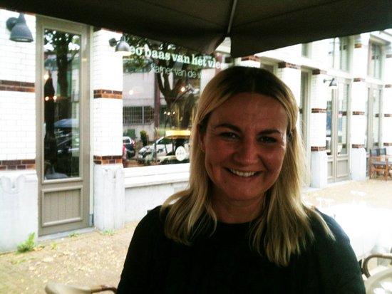 Magdalena, la patronne du Bistrot du Bac - Rotterdam