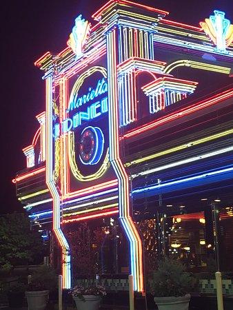Marietta, GA: All lit up!