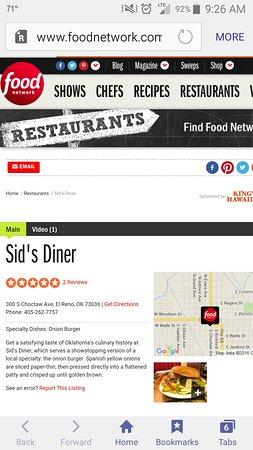El Reno, OK: Top 5 best burger in usa food network!