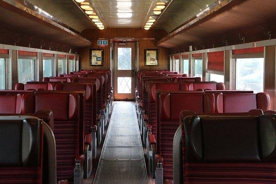 Adirondack Scenic Railroad : Air conditioned passenger car