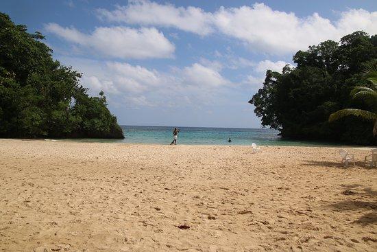 Frenchman's Cove: la plage
