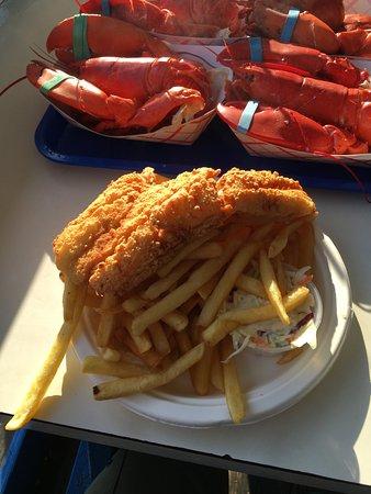 ซีบรูค, นิวแฮมป์เชียร์: Fish (haddock) and chips
