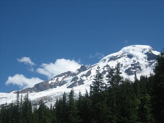 Glacier, WA: This was my view from the most difficult creek---I stayed behind to photograph.