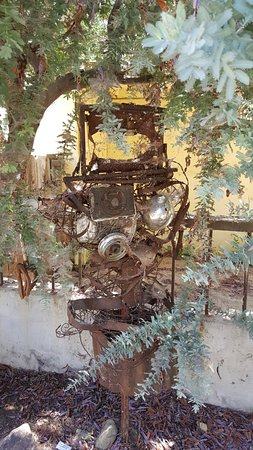 Three Rivers, Kalifornien: yard art