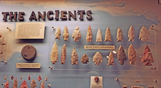 Nevada, MO: Lots of exhibits about mankind's long history in Vernon County