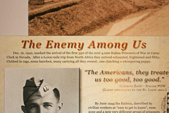 Nevada, MO: Vernon County also housed a POW camp during WW2