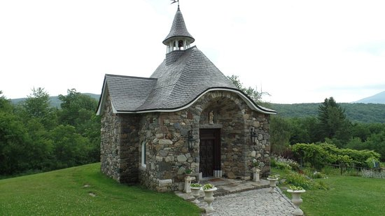 Chapelle Ste Agnes Vineyard