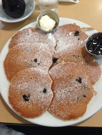 The Original Pancake House: Blueberry Pancakes!