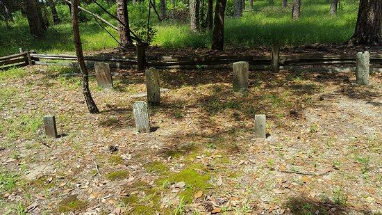 Washington, Carolina del Norte: Old Cemetery wooden head stones