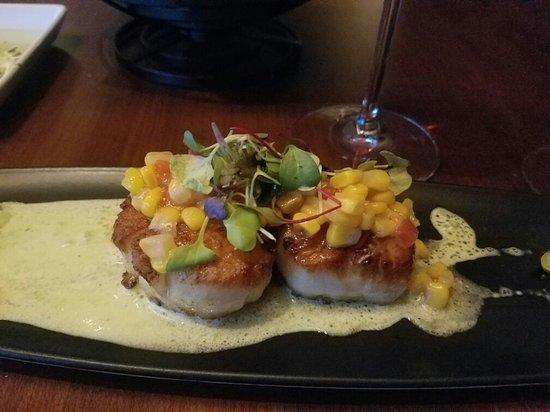 Wetumpka, AL: Diver scallops appetizer. Delicious!!