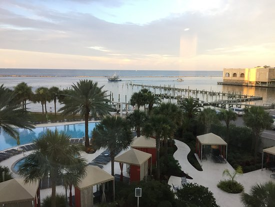 Hard Rock Hotel & Casino Biloxi: This is the view from our room.