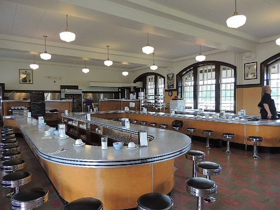 McAdam Railway Station : Lunch room for commoner travelers in early 1900's