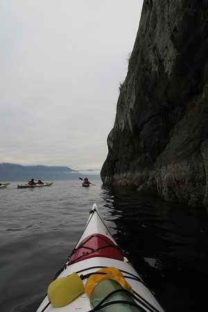 Heriot Bay, Kanada: Out for a paddle