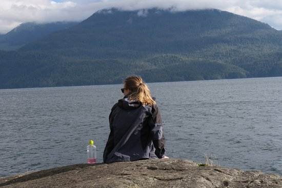 Heriot Bay, แคนาดา: the view