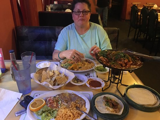 Cottonwood, AZ: Fajitas for two!