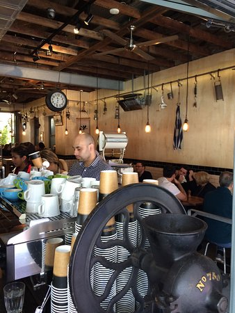 Wahroonga, Australien: GREAT Coffee with a superb service and environment