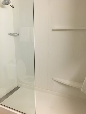 Duluth, GA: Shower and bathroom area. Super clean!