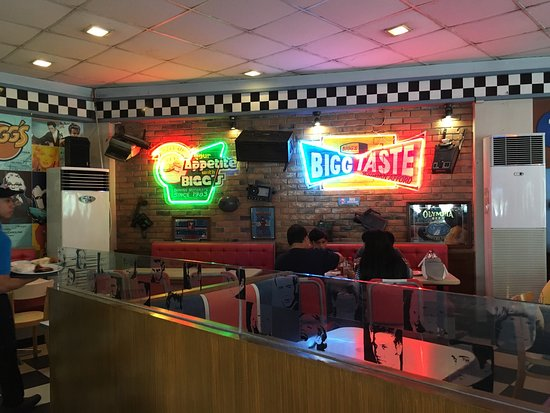 Iriga City, Filipinler: Bigg's Diner