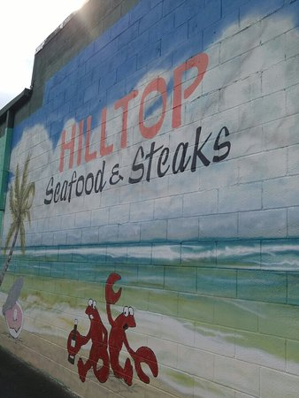 Andalusia, AL: Hilltop Meat Company. Steak, chicken, scallops.  Something for everyone