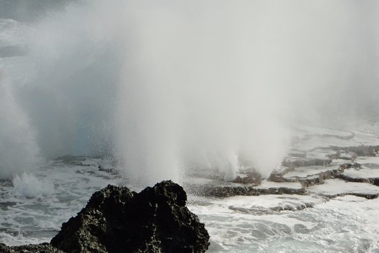 Tongatapu Island, Tonga: Blowholes