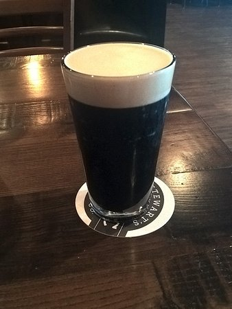 Stewart's Brewing Co: I love a good dark beer and the Stout was perfect